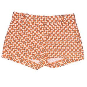 Banana Republic Factory Orange Print Shorts
